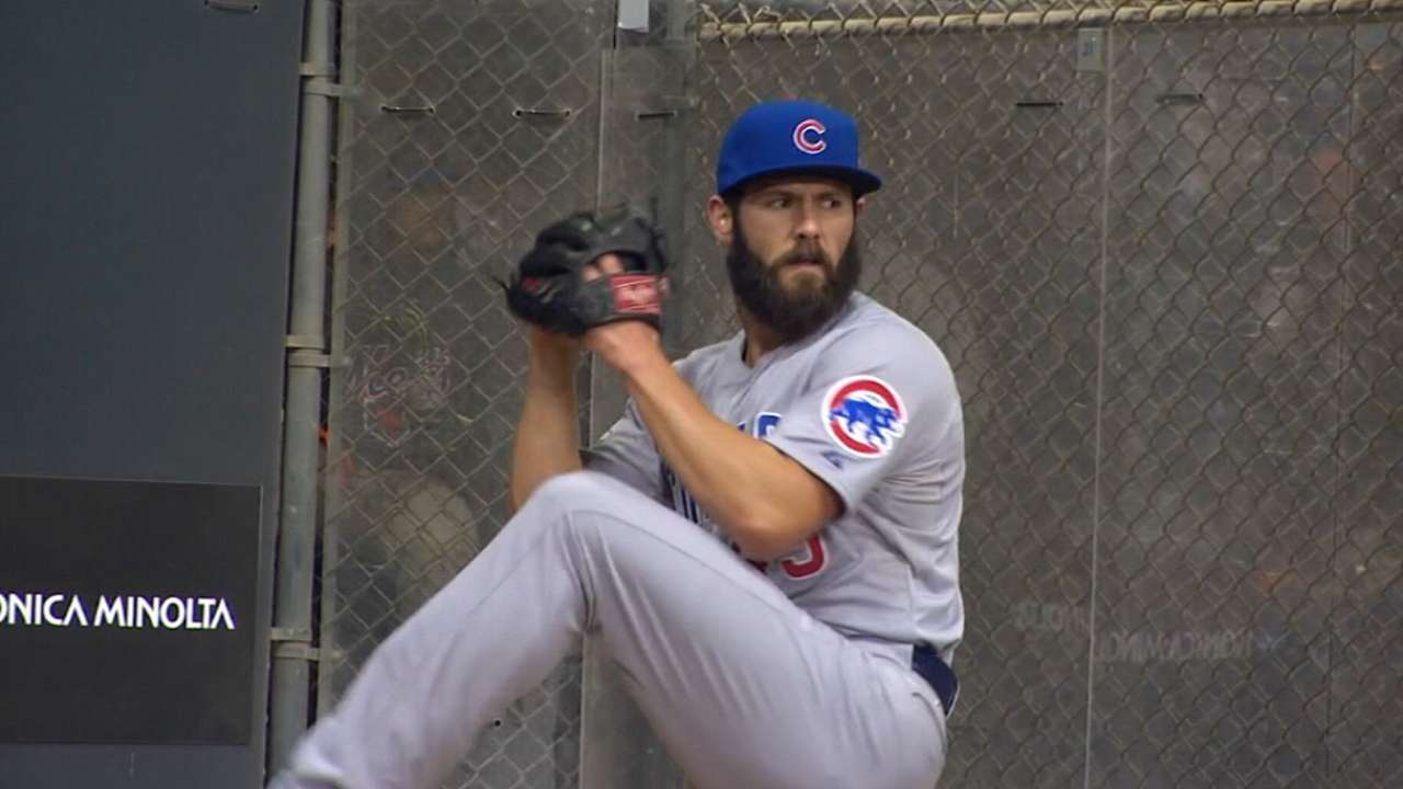 Arrieta's Cy Young gives Cubs a BBWAA trifecta