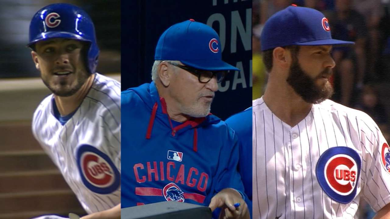 Cubs clean up in BBWAA Awards