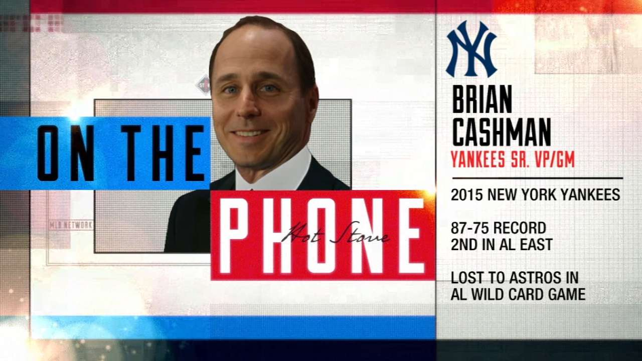 Cashman open to inquiries about all players
