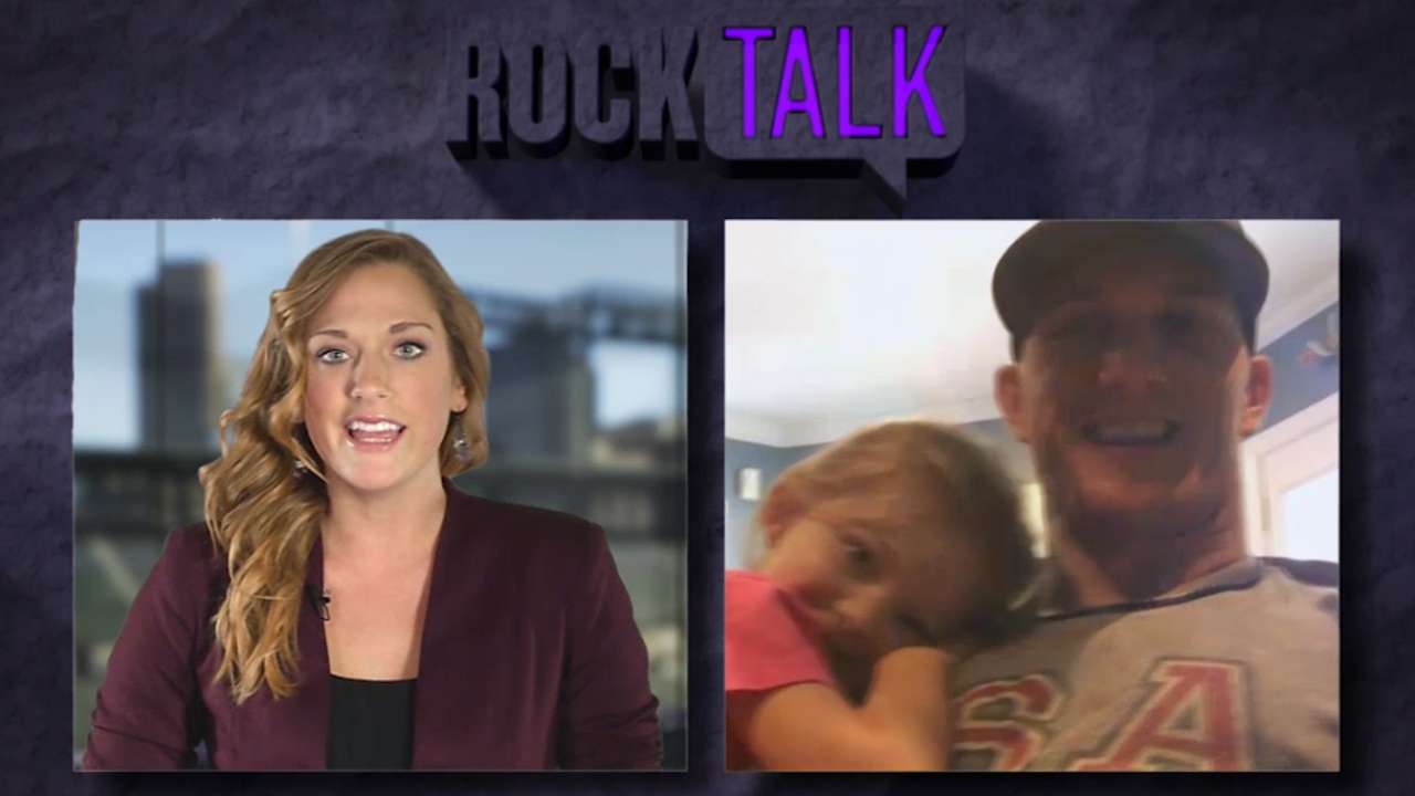 'Rock Talk' catches up with Rockies' Barnes