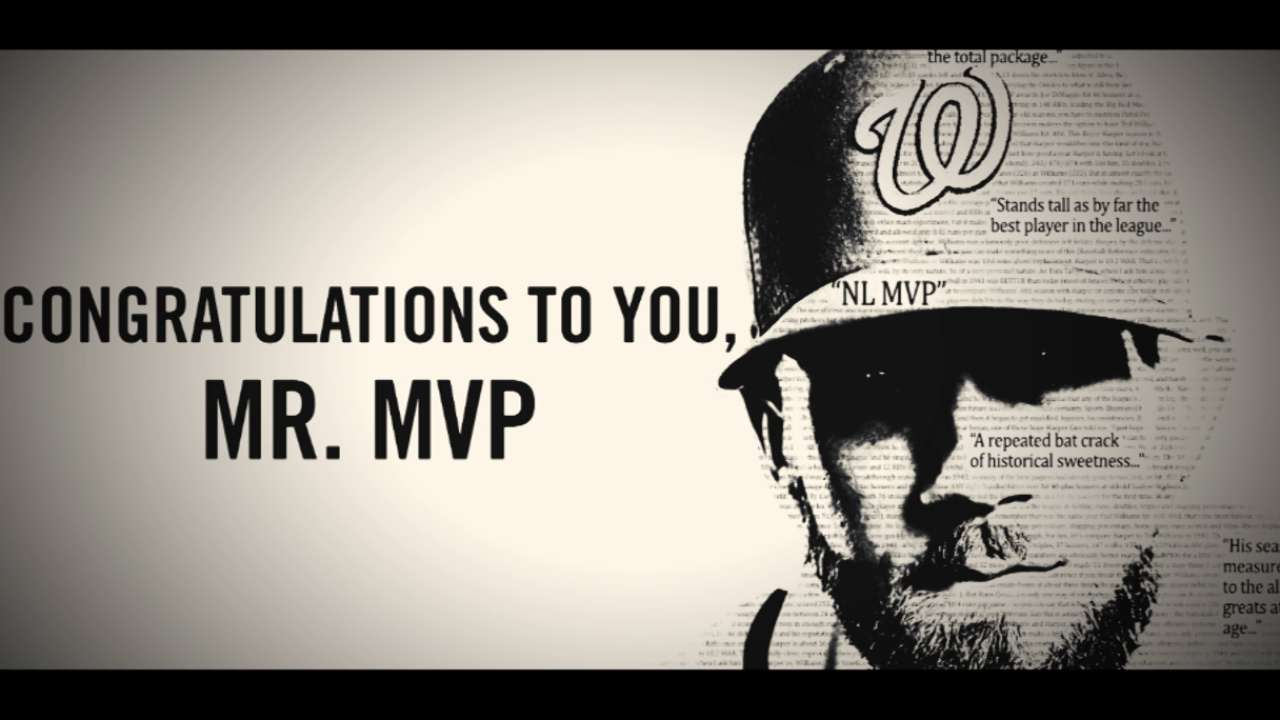 Congratulations, Mr. MVP!