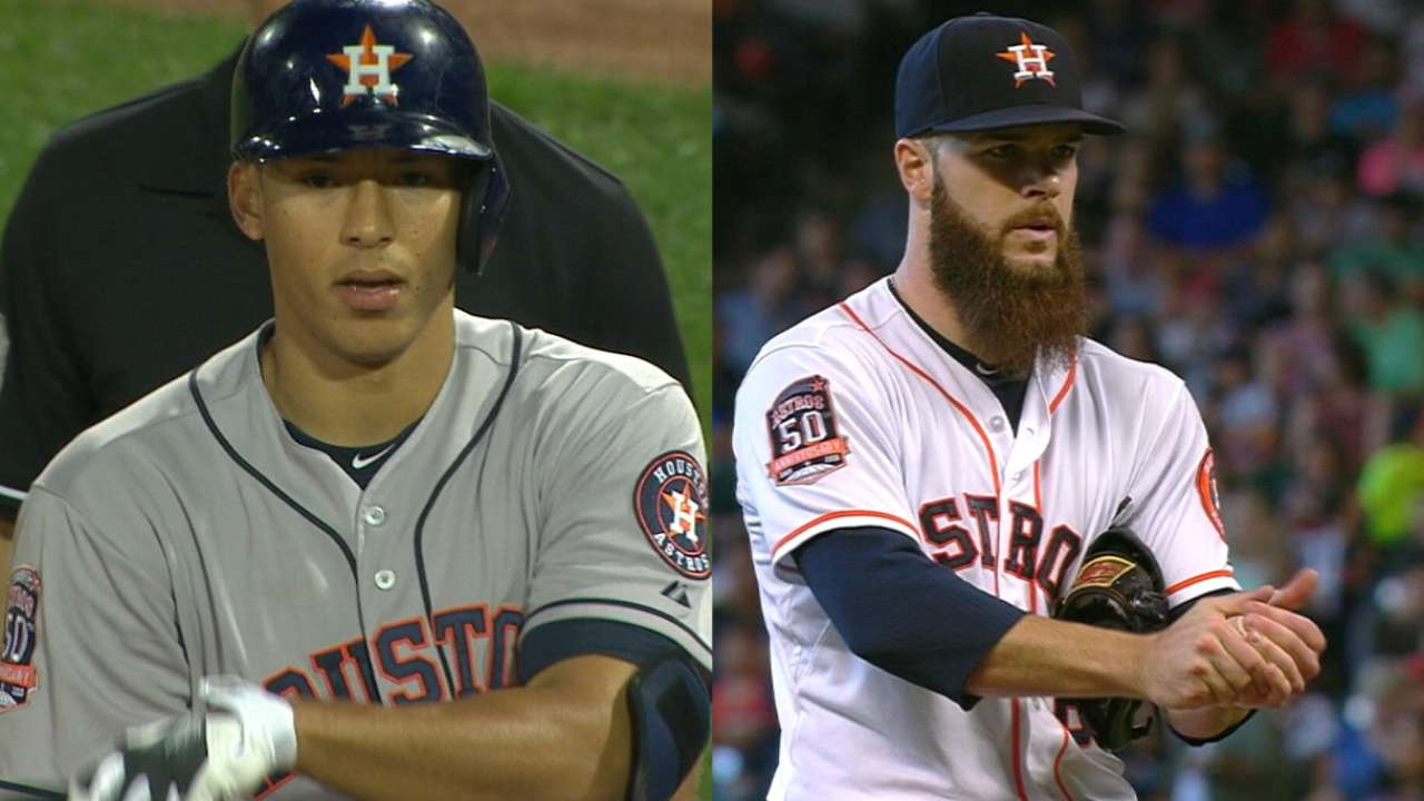 Heck of a year for former Astros head scout