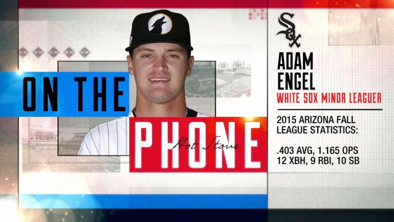 Prospect Engel joins Hot Stove