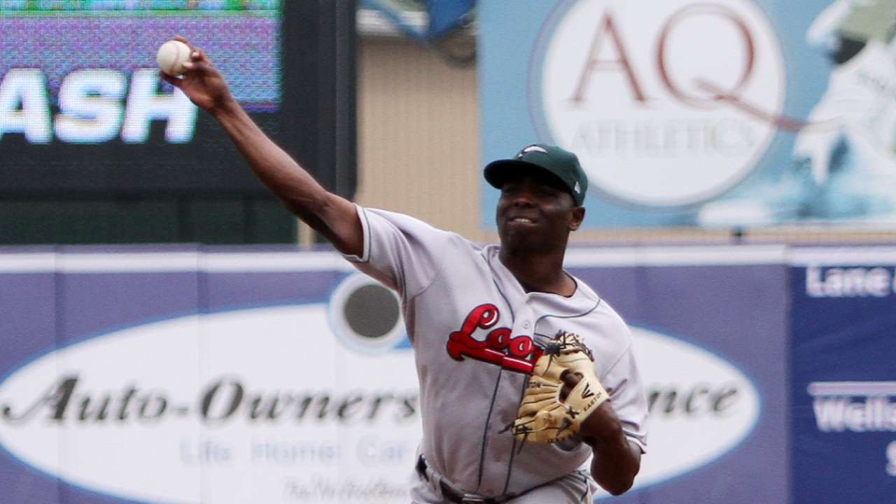 Cotton, Stripling added to 40-man roster
