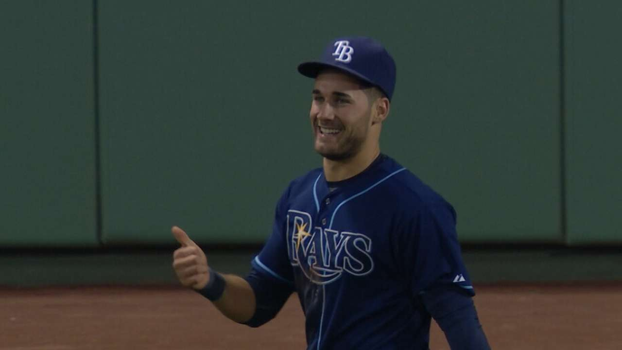 Rays win a pair of awards