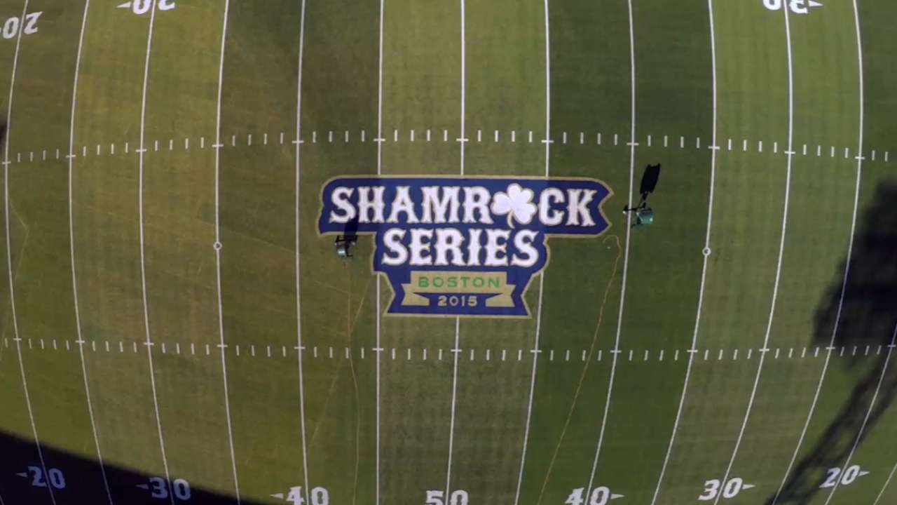 Notre Dame prevails in Fenway football game