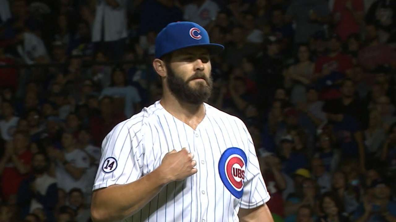 Arrieta among seven Cubs to file for arbitration