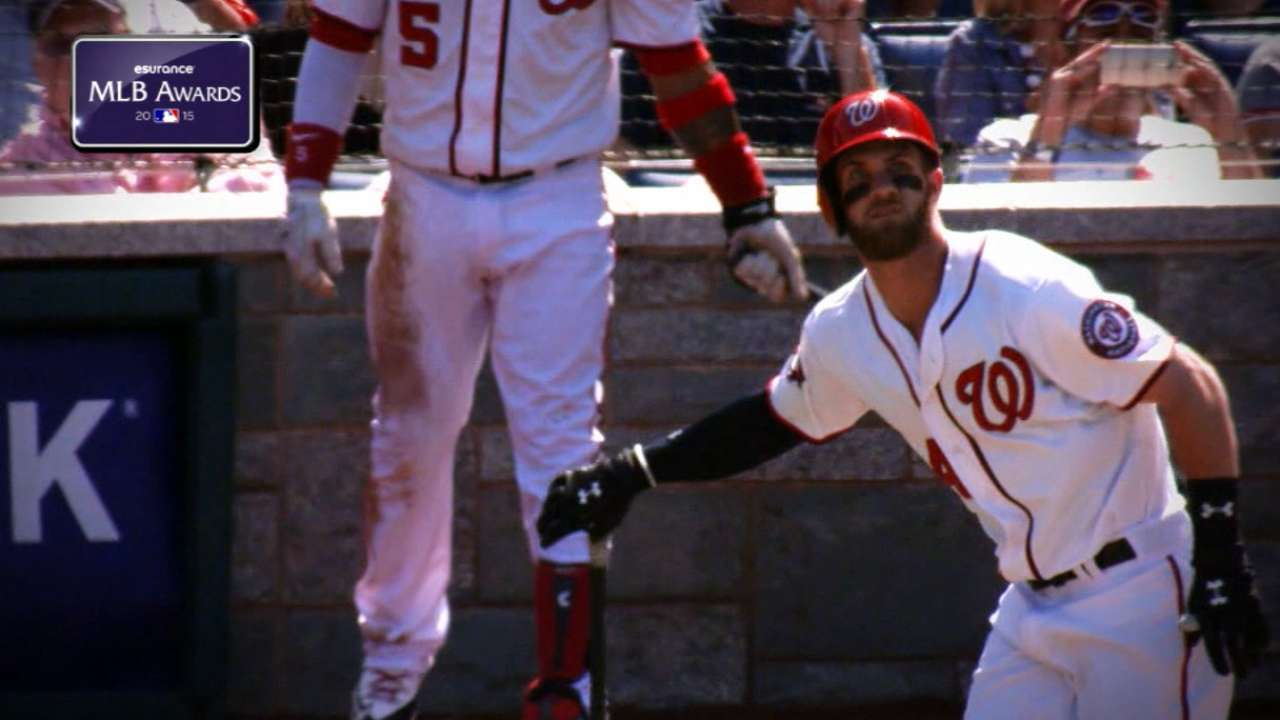 Harper aims to build on MVP campaign