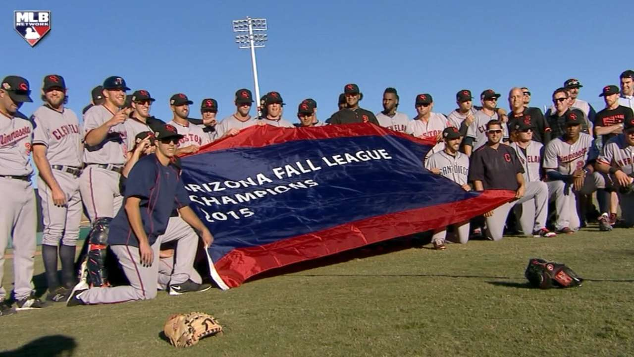 Hader leads list of prospects who shined in Fall League title game