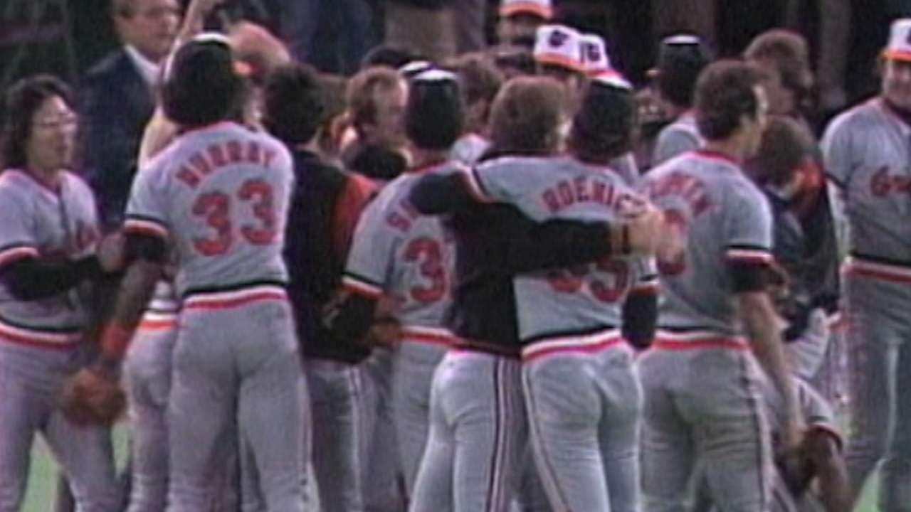 Orioles win 1983 Series
