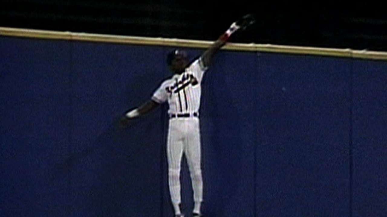 Before Inciarte's catch, there was Nixon's