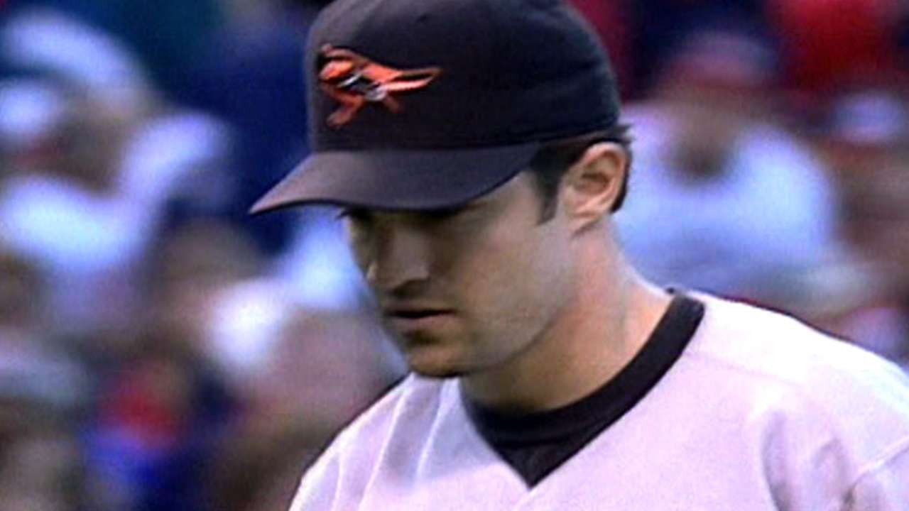 Mussina sets LCS record