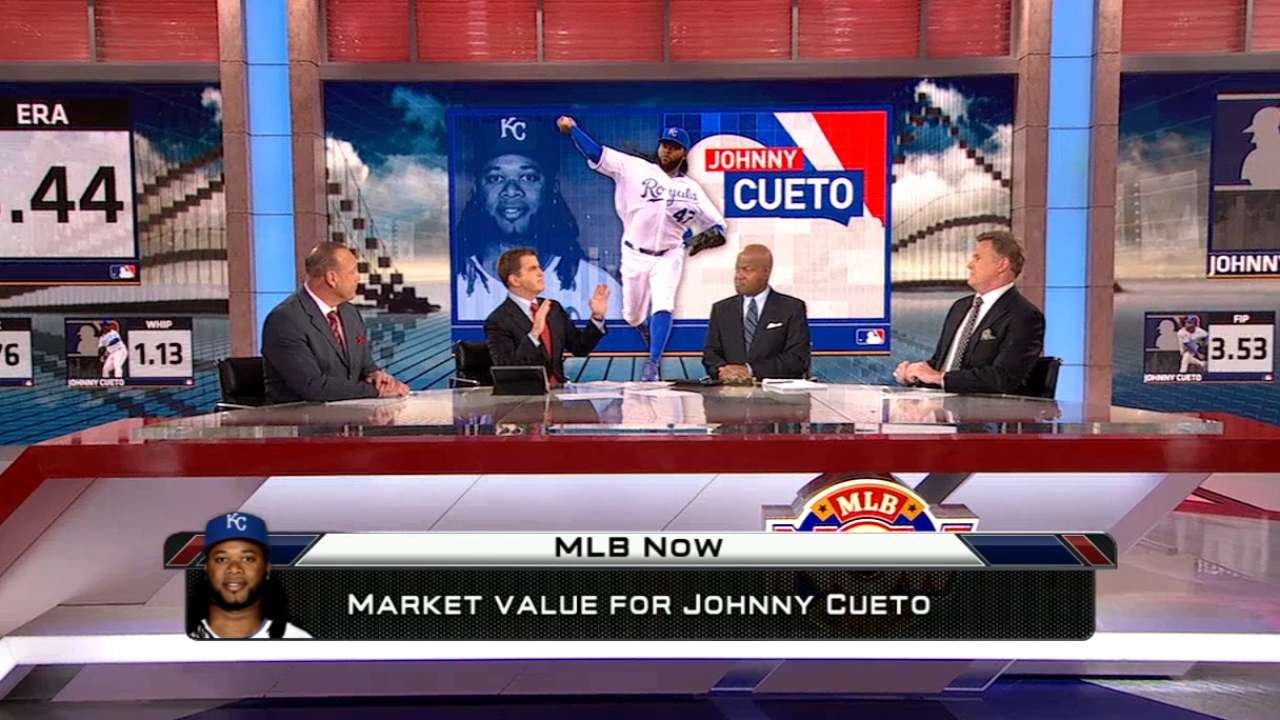 MLB Now on Cueto's market value
