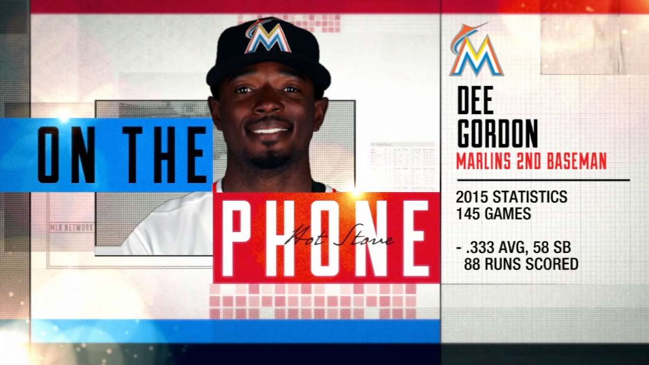 Gordon says agent, Marlins talking extension