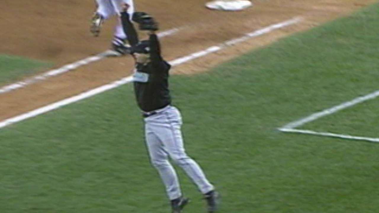 Marlins win '03 World Series