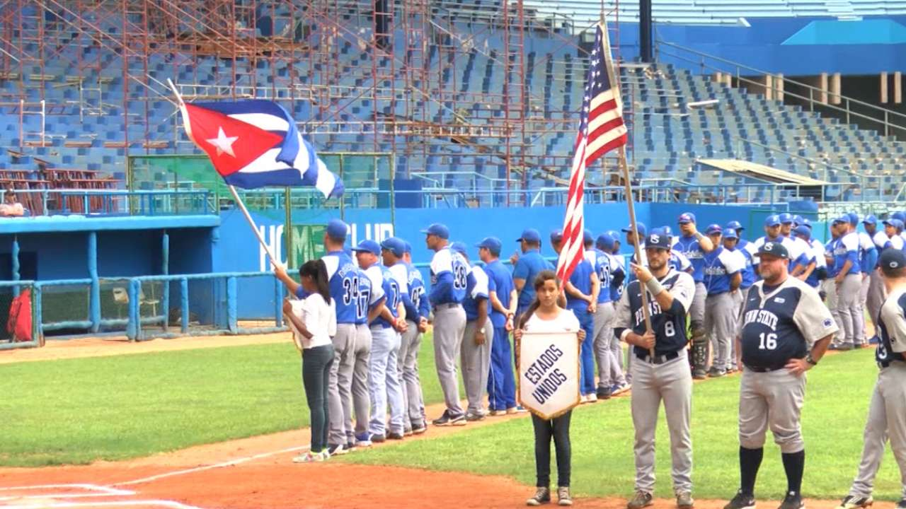 Cubans effusive about passion for baseball
