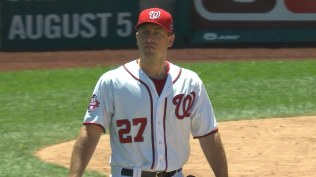Nats like options to replace Zimmermann