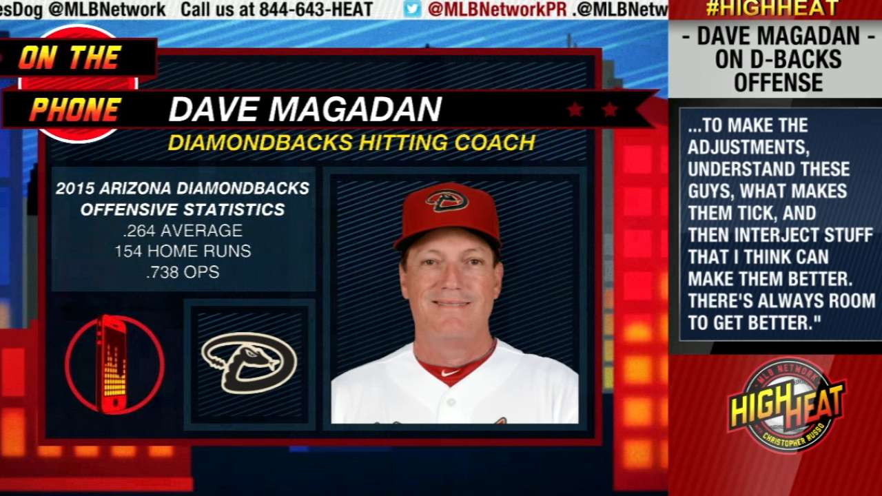 D-backs hire Magadan as hitting coach
