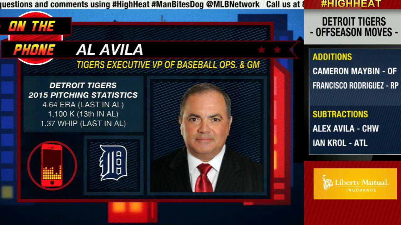 Avila on Tigers' latest moves