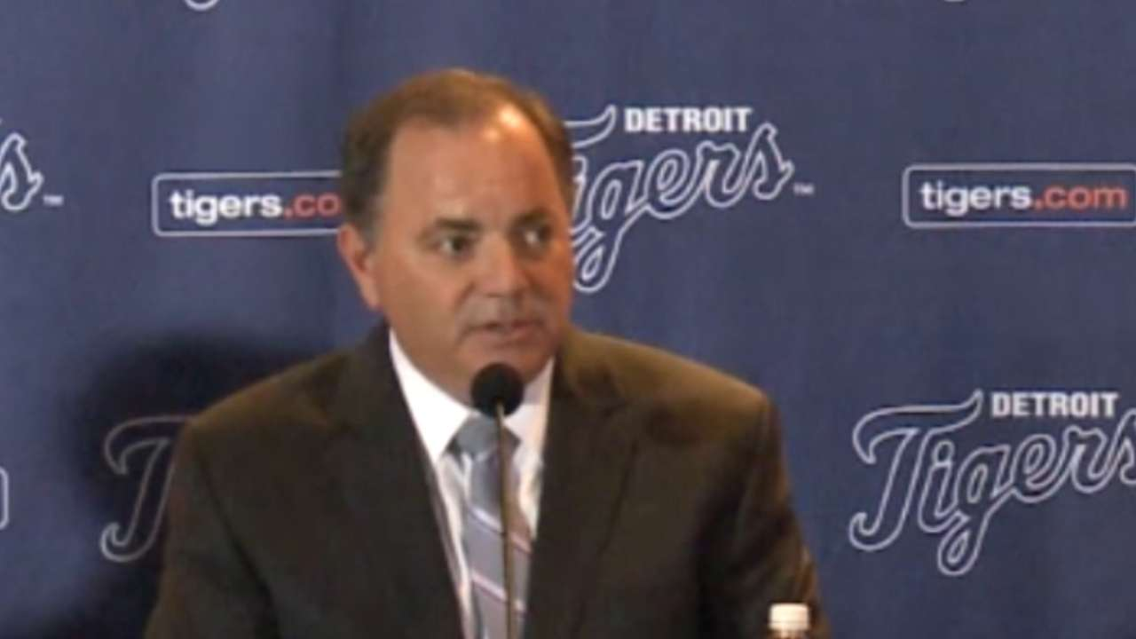 Pitching still Tigers' priority amid OF reports