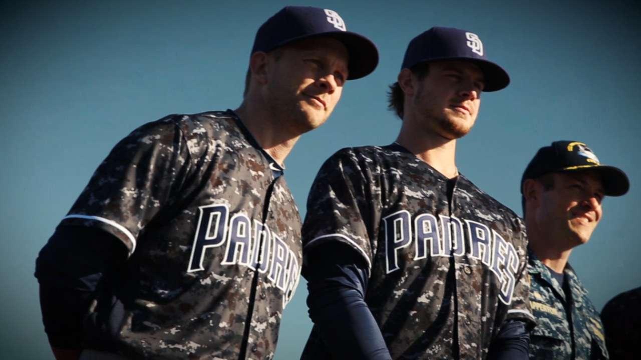 promo code ed9bd b3f50 Padres reveal new uniforms for All-Star season | MLB.com