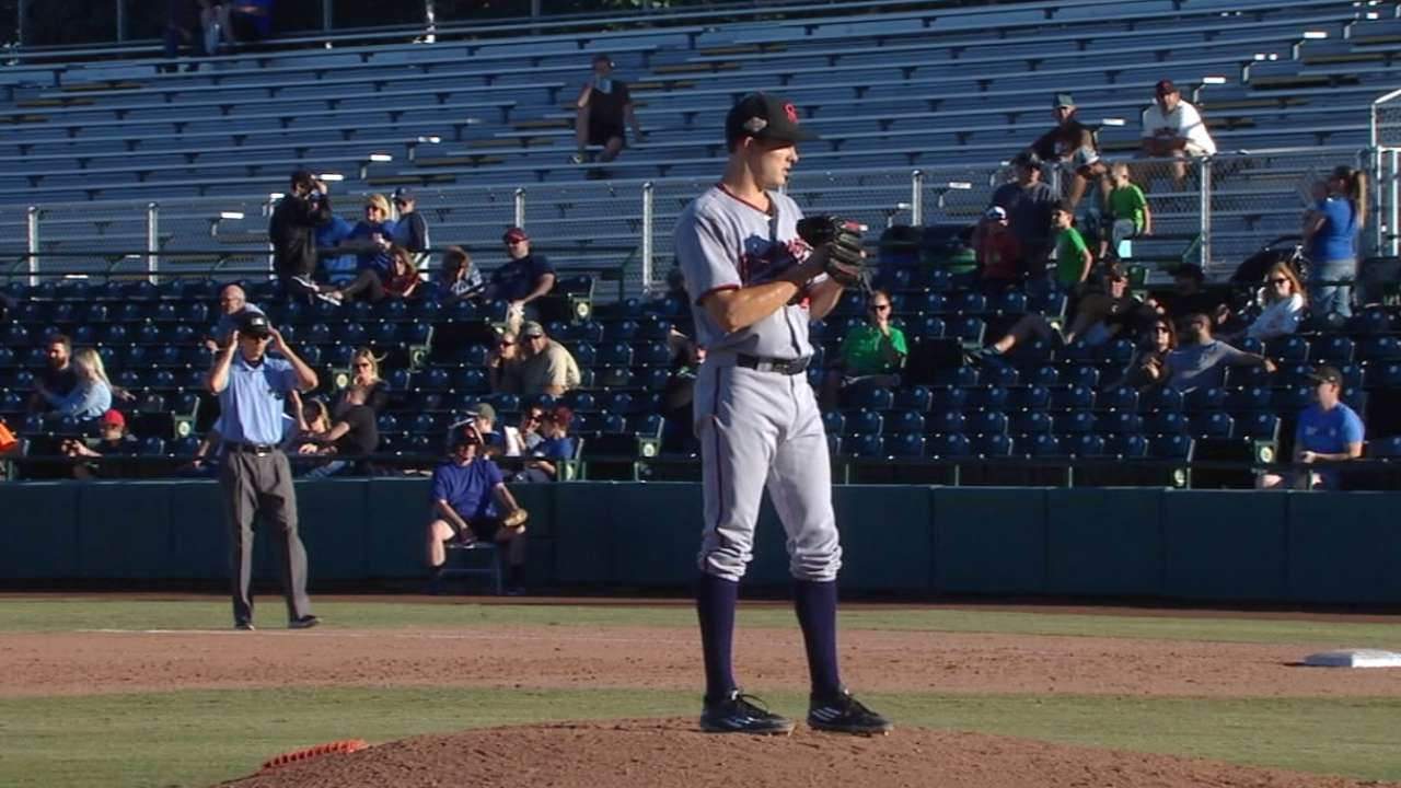 Pleskoff on Twins prospect Burdi