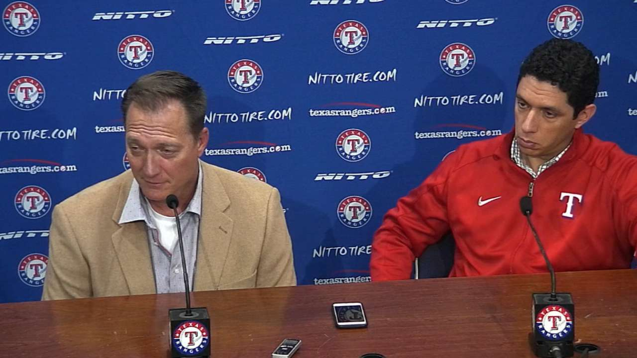 Pitching remains Daniels' priority for Rangers