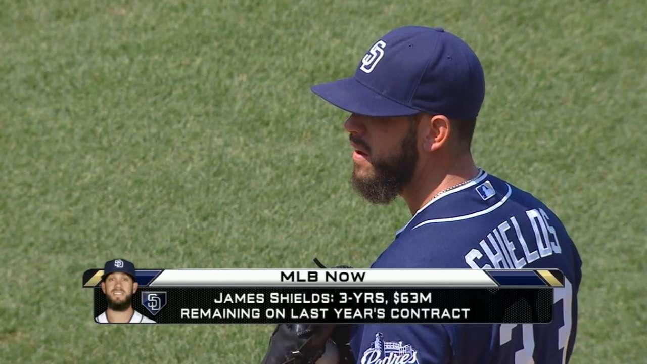 MLB Now: James Shields