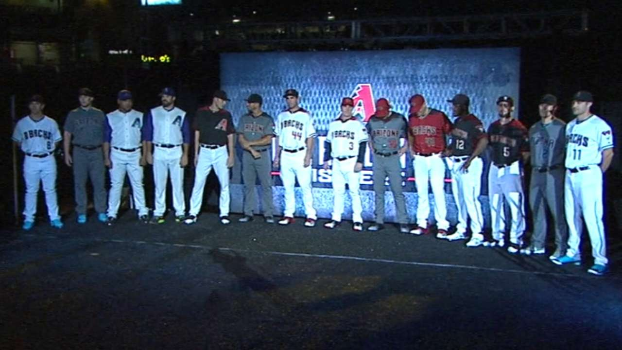 D-backs reveal new look