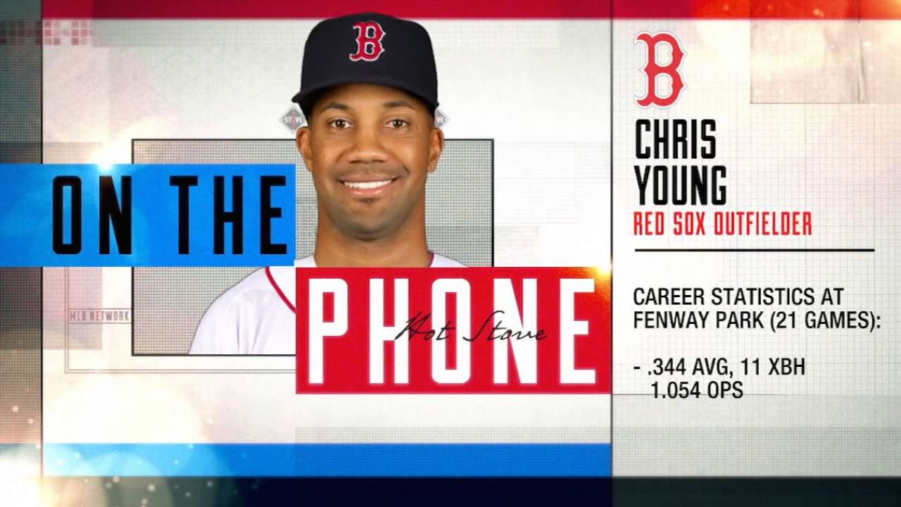 Young on signing with Red Sox