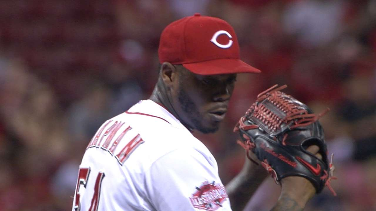 No tears for Cards as Chapman leaves Central