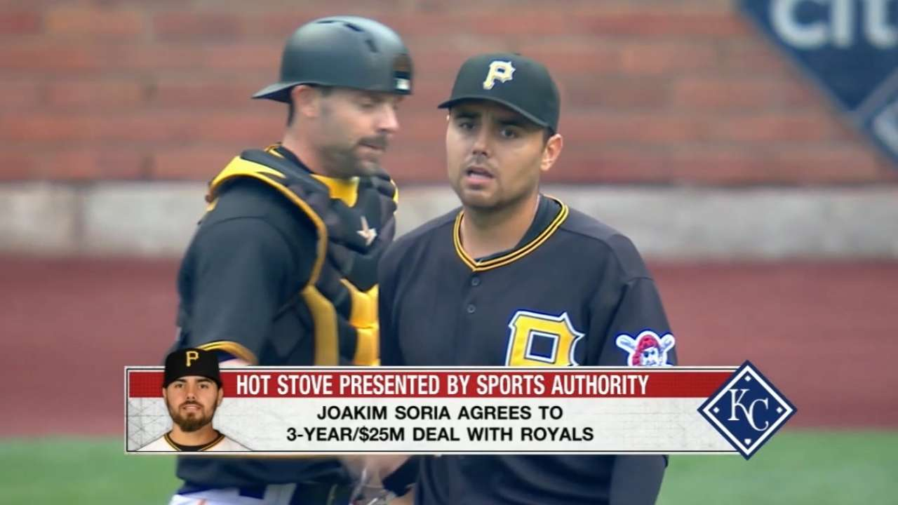 Rosenthal on reported Soria deal