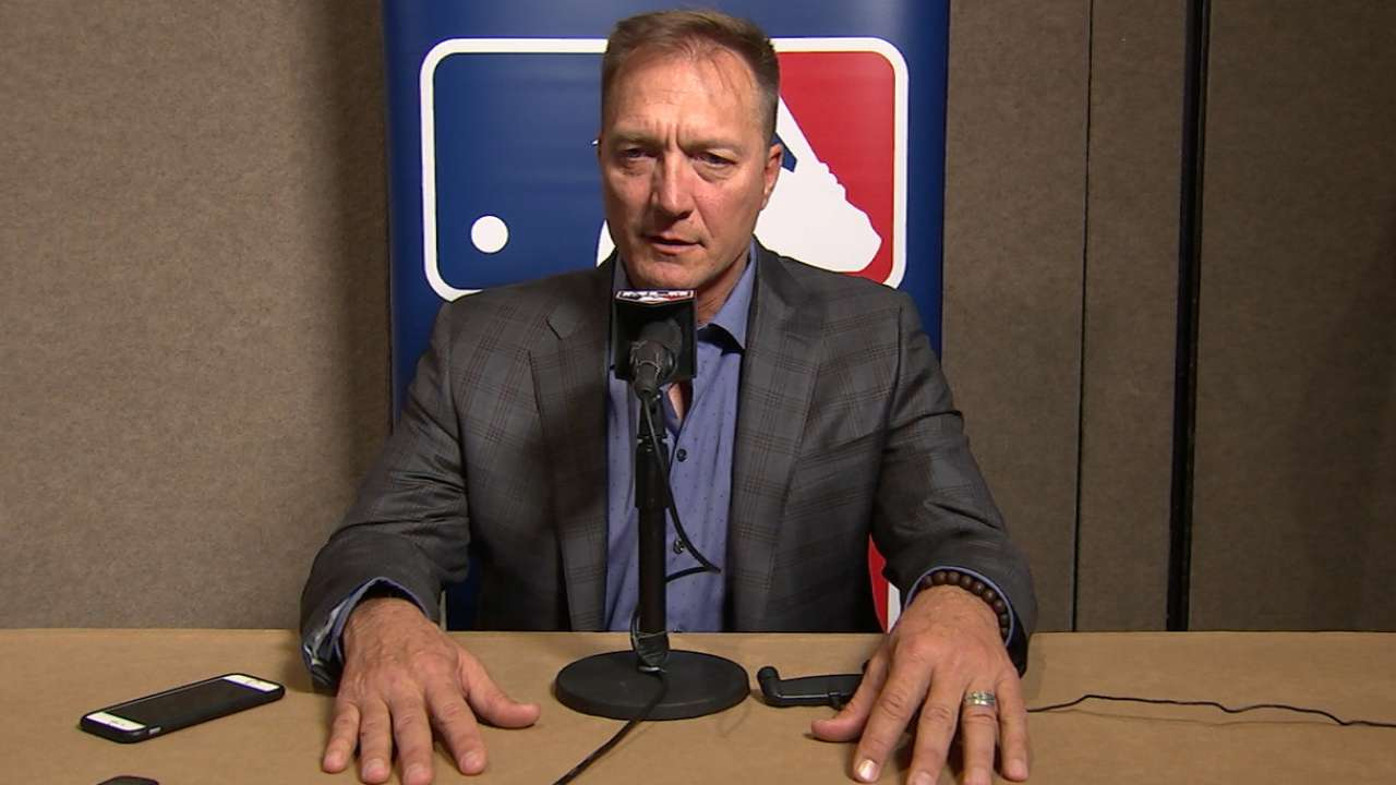 Winter Meetings interview with Jeff Banister