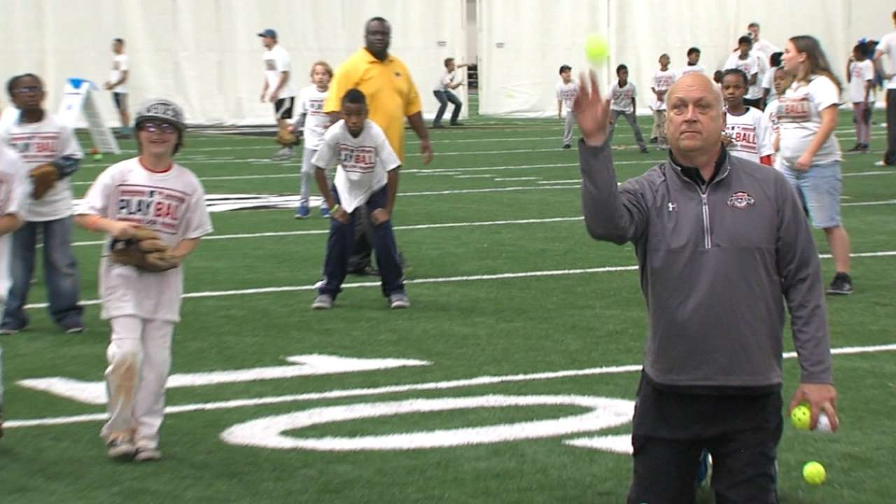 Ripken attends Play Ball event
