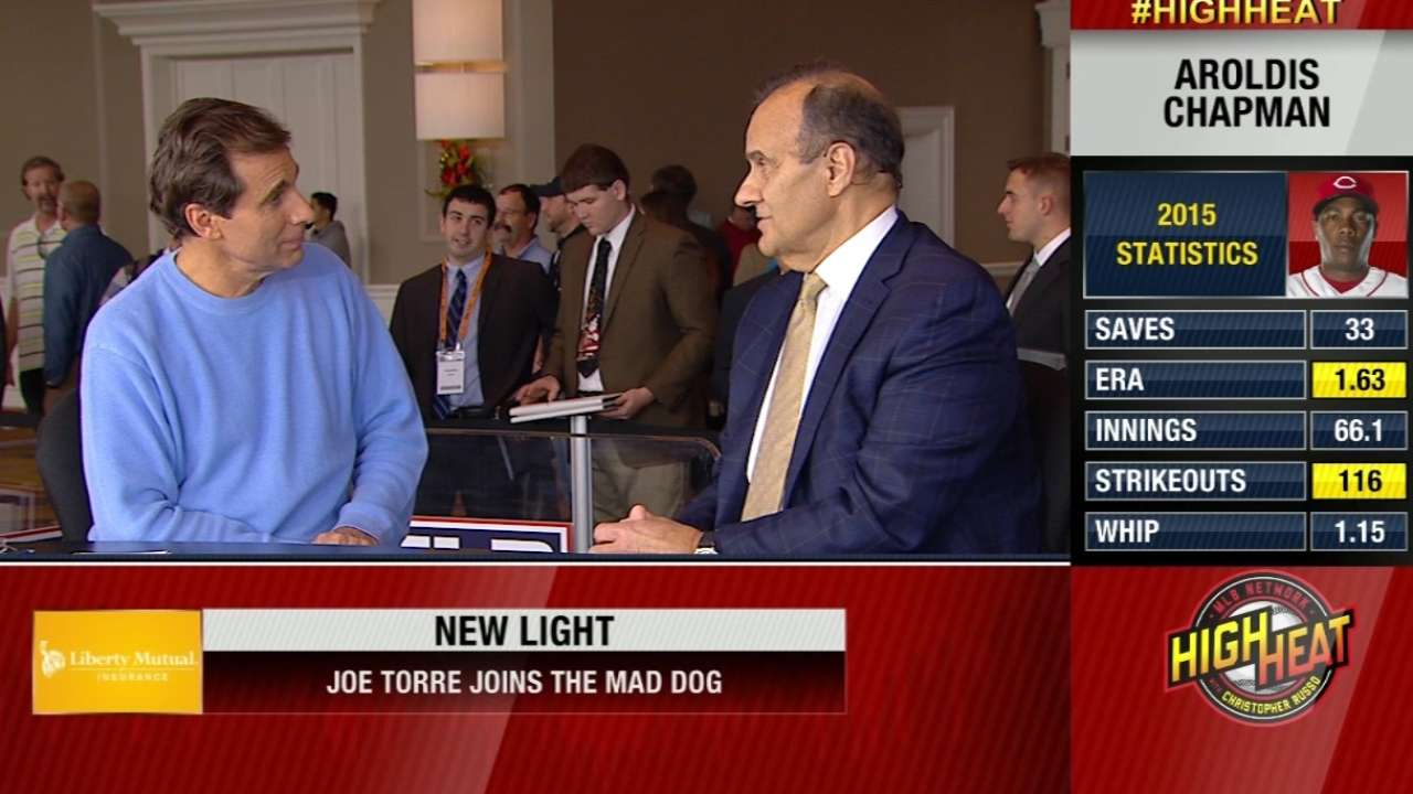 Joe Torre chats with Mad Dog