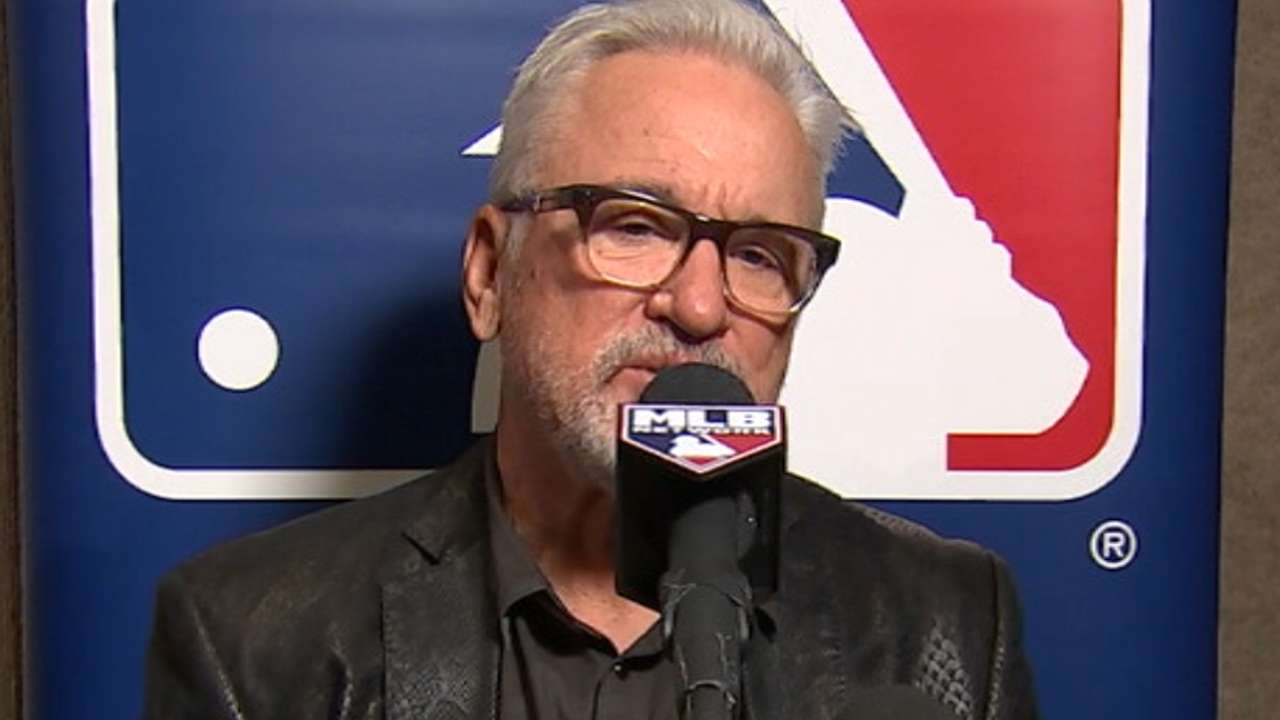 Winter Meetings interview with Joe Maddon