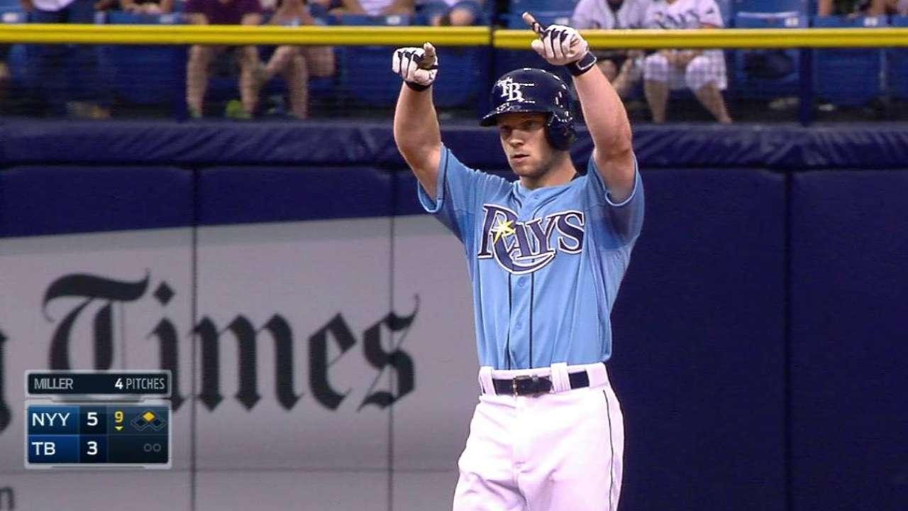 Brett's first MLB hit