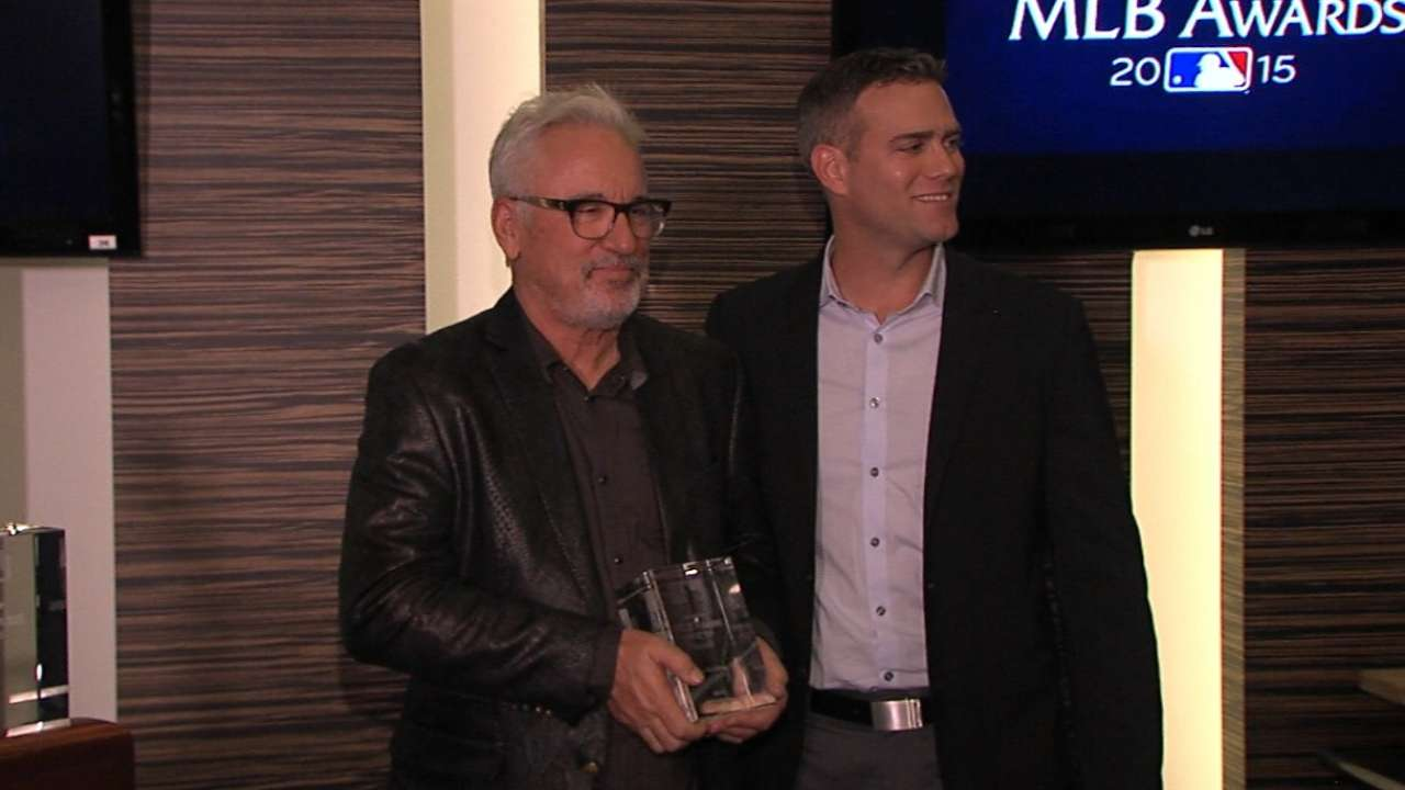 Maddon adds to Cubs' haul as Best Manager