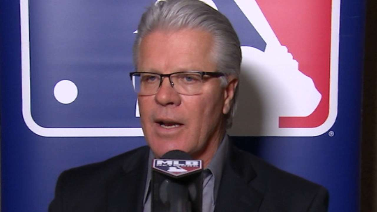 Winter Meetings interview with Pete Mackanin
