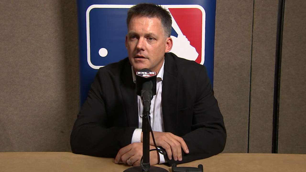 Winter Meetings interview with A.J. Hinch