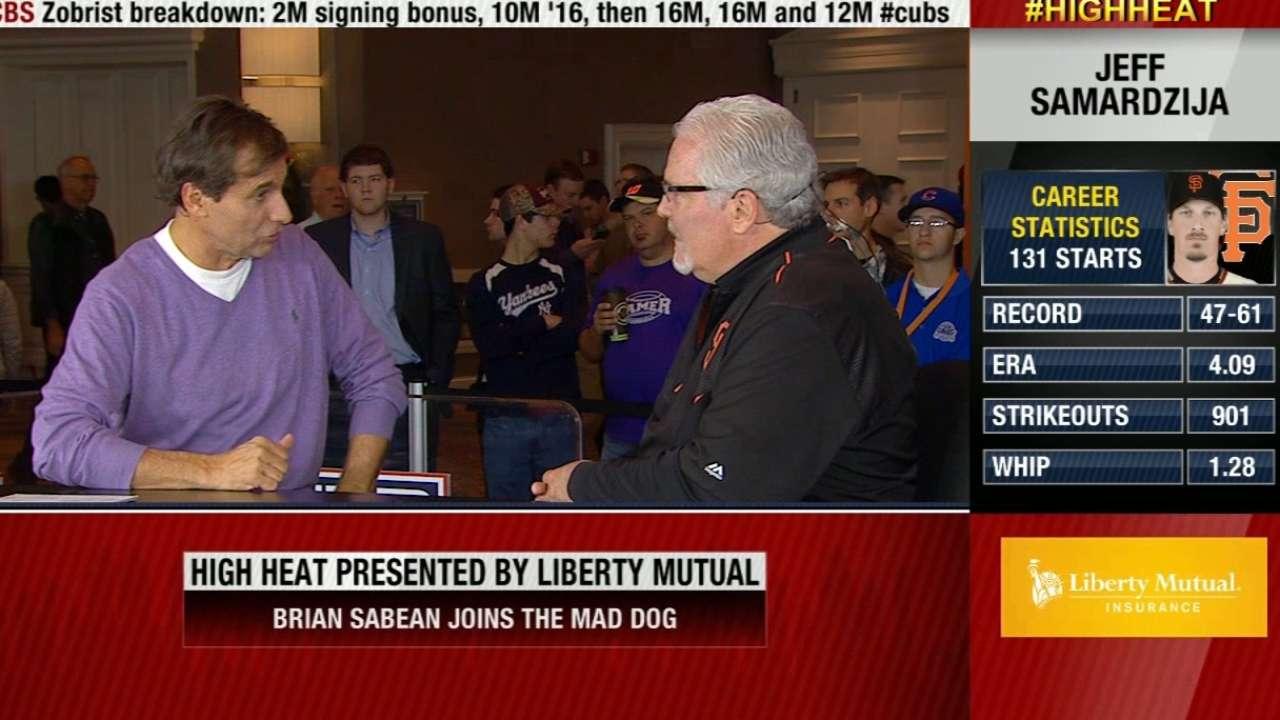 Brian Sabean on Giants' mindset