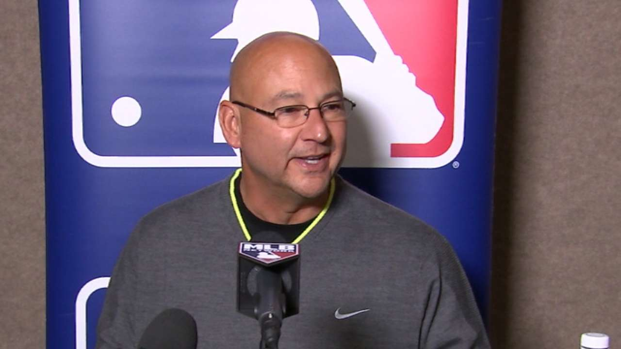 Winter Meetings interview with Terry Francona