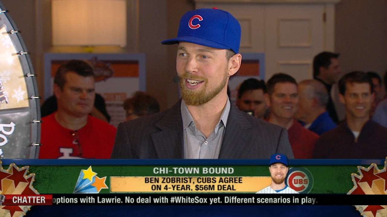 Zobrist joins IT to talk family