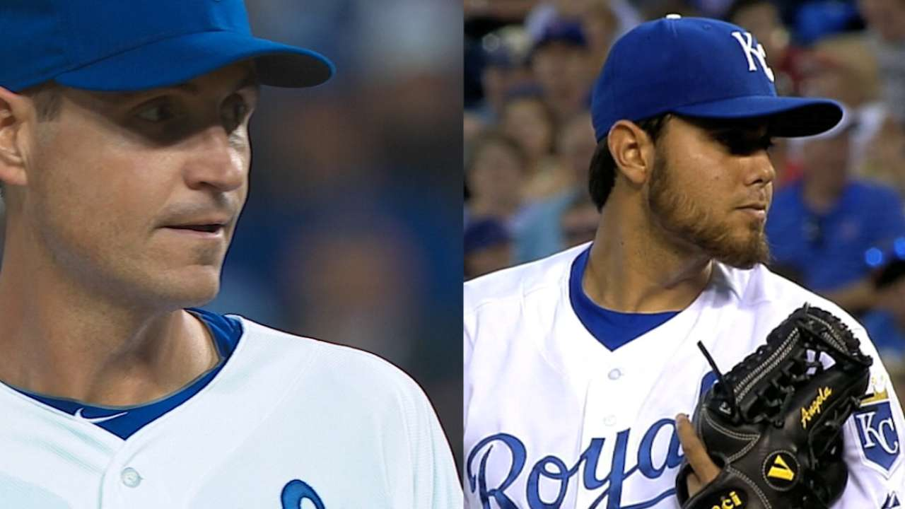 Yost on KC signing Young, Soria