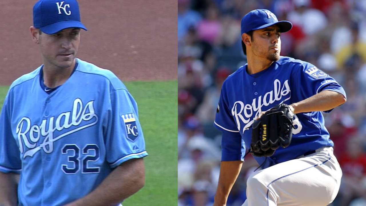 Royals agree with Young, Soria