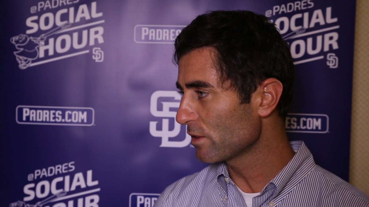 Padres active at Meetings, with more to come