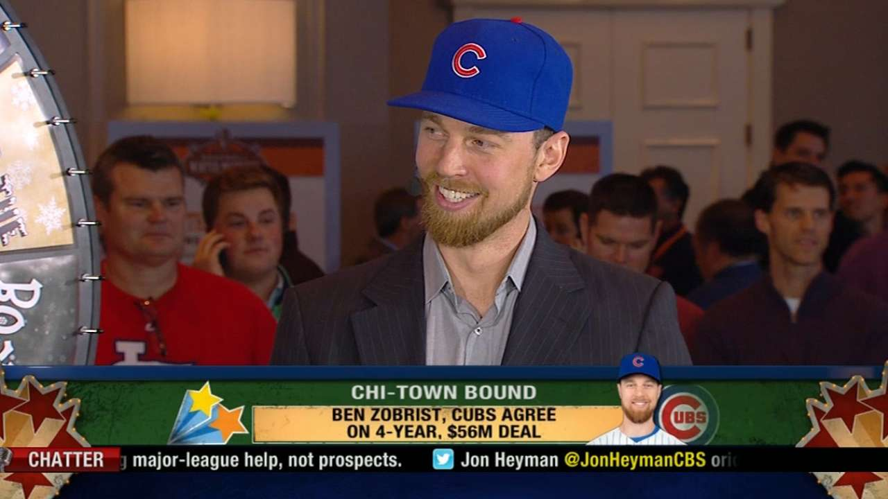 Zobrist joins IT to talk signing