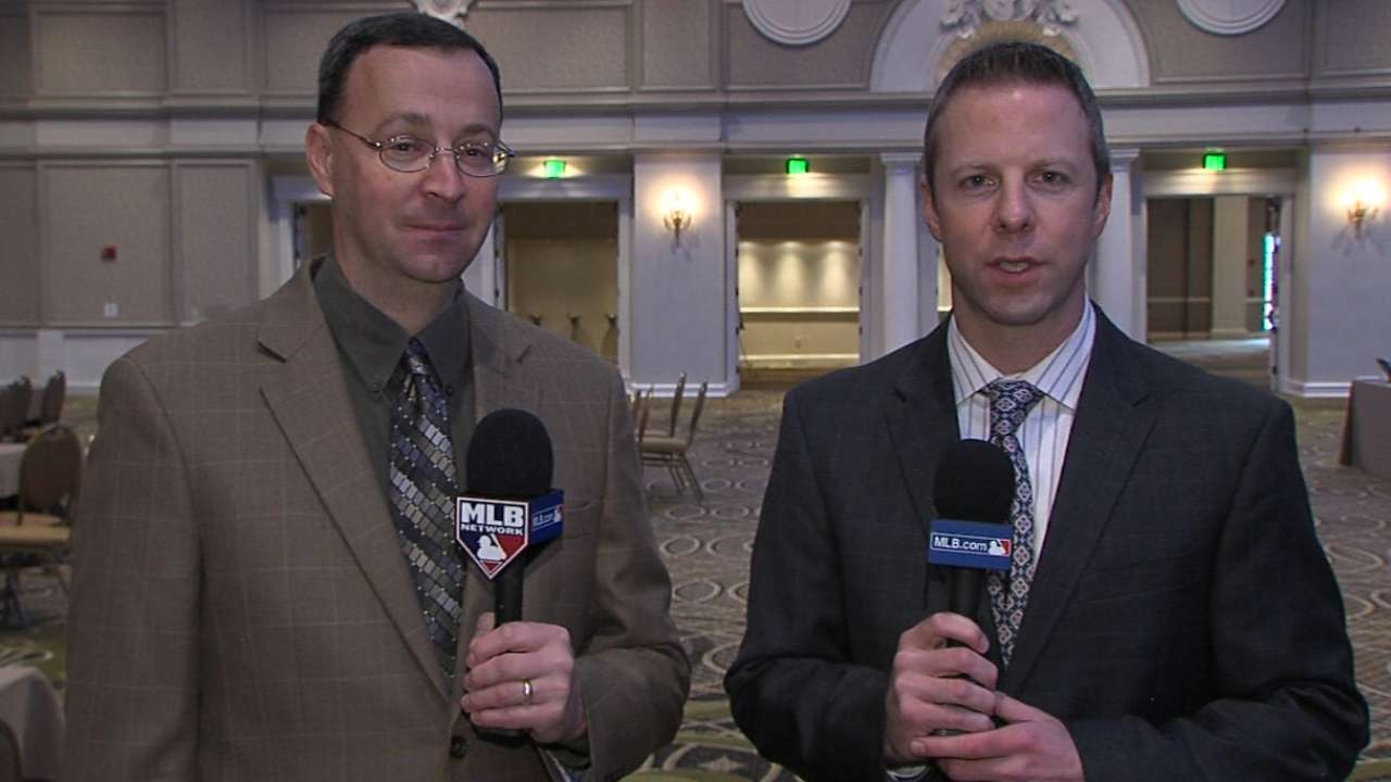 Scouts of the Year honored at Winter Meetings
