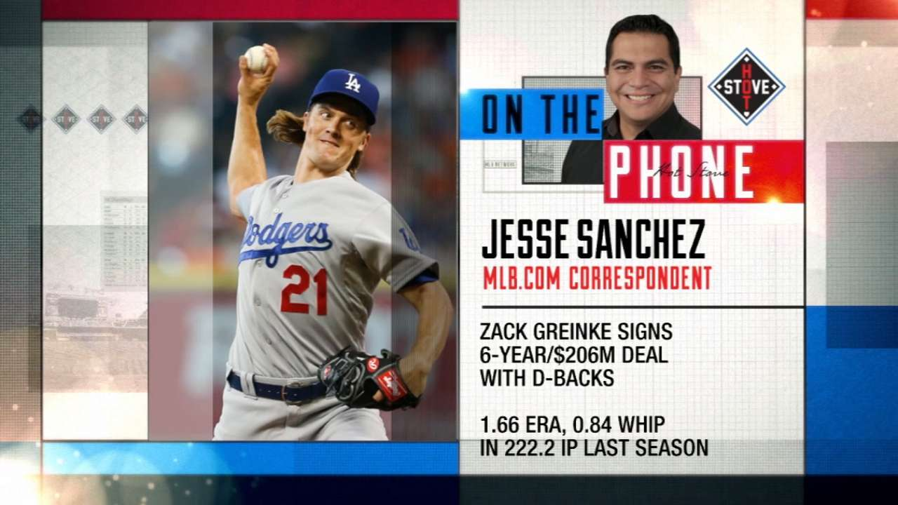 Sanchez on improved D-backs club