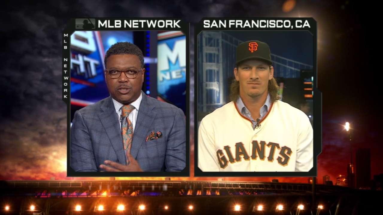 MLB Tonight: Jeff Samardzija